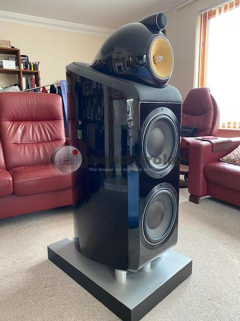 B & W 800D2 - perfect condition