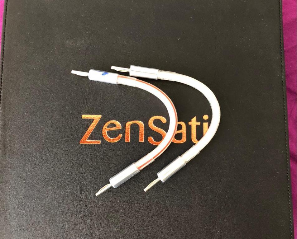 Authentica Speaker Cables - 2.5m - Mint Condition