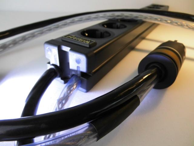 Netzleiste Twin-Power 4+4