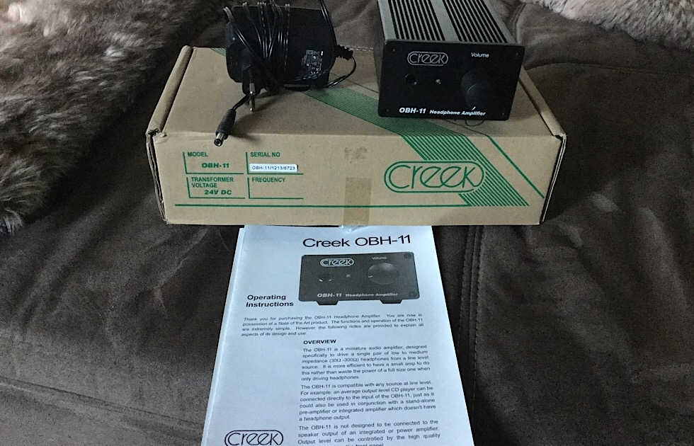 Creek Kopfhörerverstärker OBH - 11