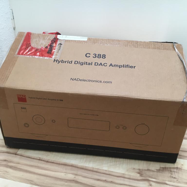 C388 Hydrid Digital DAC Amplifier