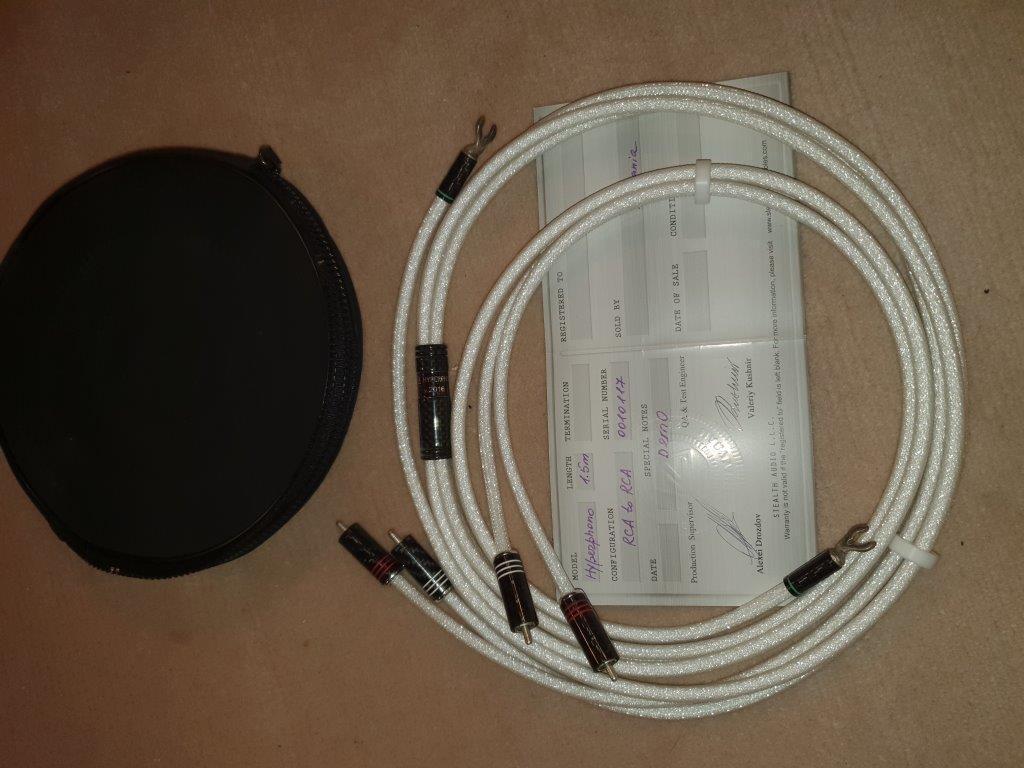 Hypher Phono RCA-RCA 1.5 mtr