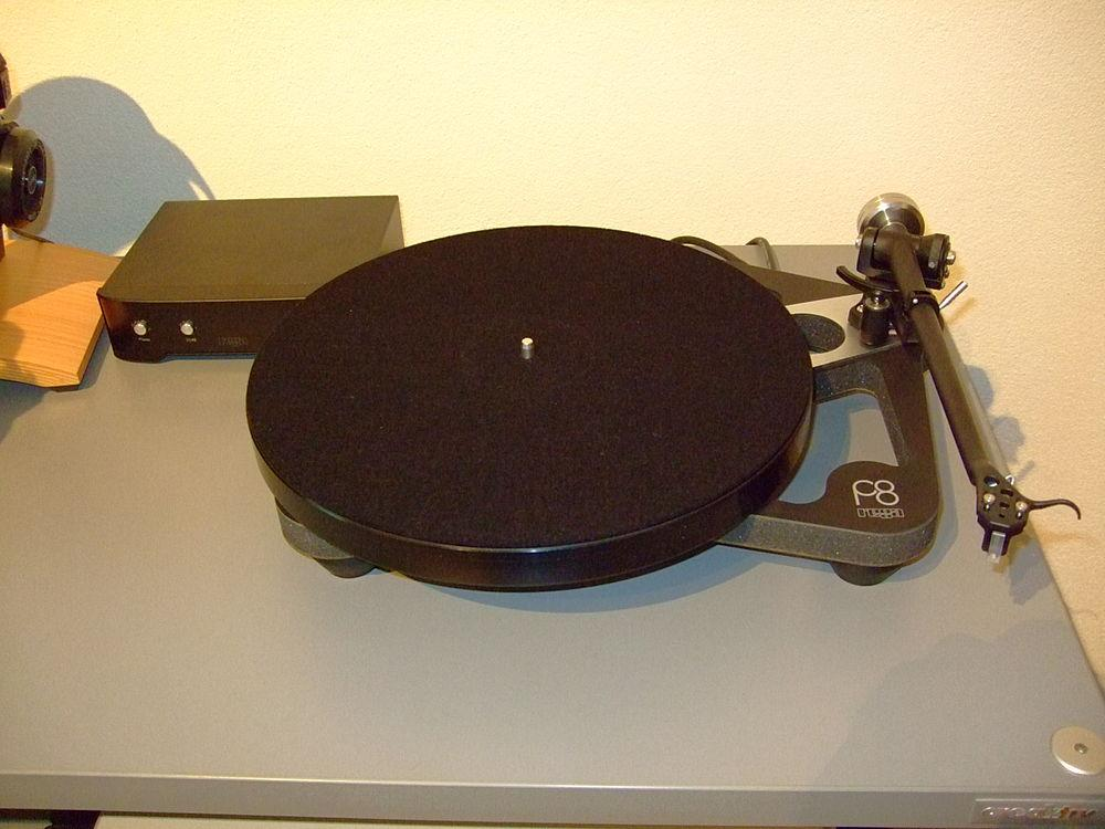 Planar 8 mit Tonabnehmer Excalibur Black