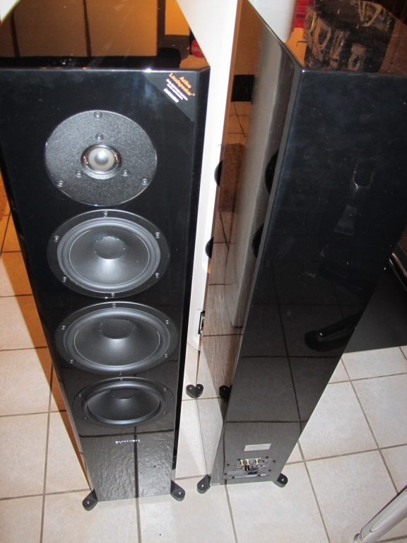 Dynaudio Focus 60xD High End Aktivlautsprecher in schwarz aus Demo