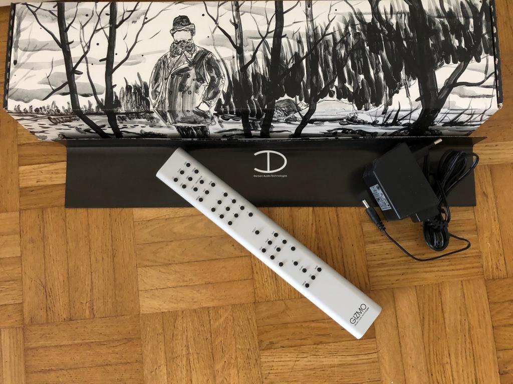 Gizmo Fernbedienung (Remote Control) in Albino / Silber