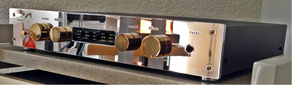 Evolution V3s mit Phono MC