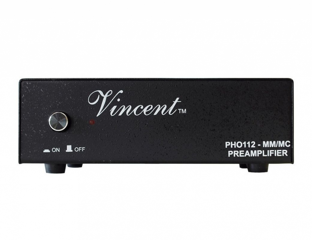 Vincent PHO 112 PHO112 MM/MC Phonovorverstärker schwarz Neu