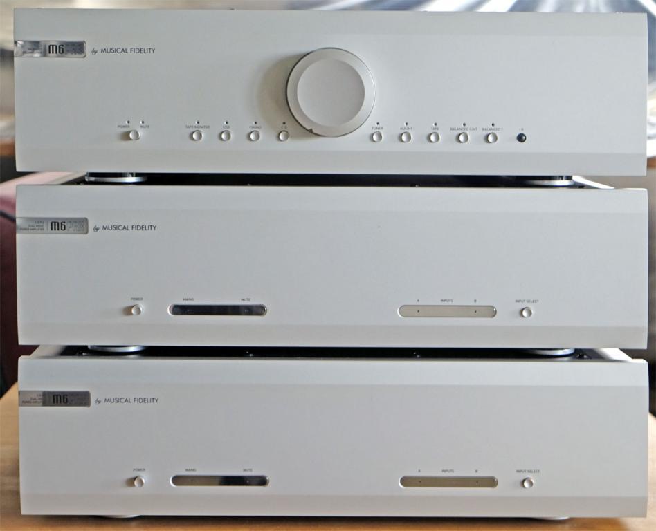 Musical Fidelity M6 PRE + 2 Stück M6 PRX
