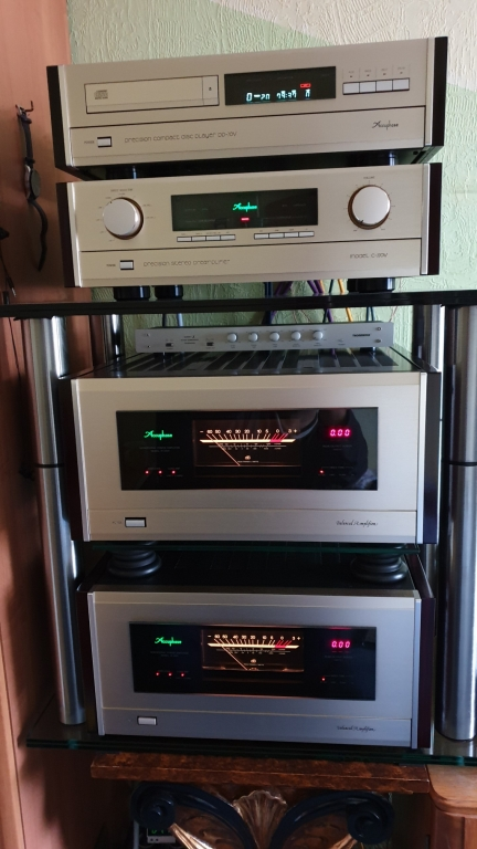 Accuphase M-1000 + C270V   Absolute Top Zustand ! Mint Condition