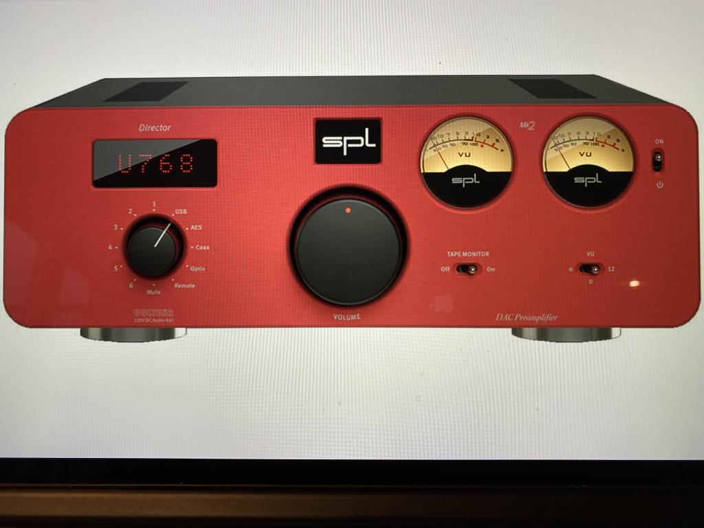Director MK2 DA-Wandler und analoger Vorverstärker