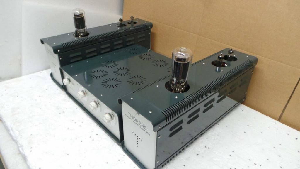 preamp with mc phono and 845 single ended valve monoblocks