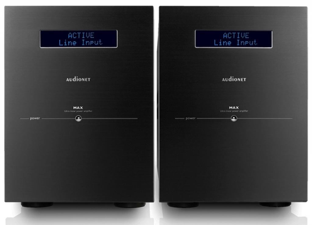 AUDIONET MAX Mikroprozessorgesteuerter Referenz-Mono-Leistungsverstärker, Paar