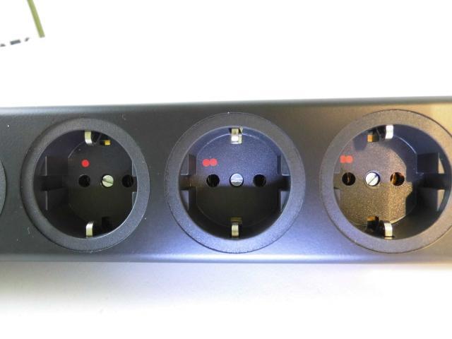 Netzleiste STERN GF6 silver II