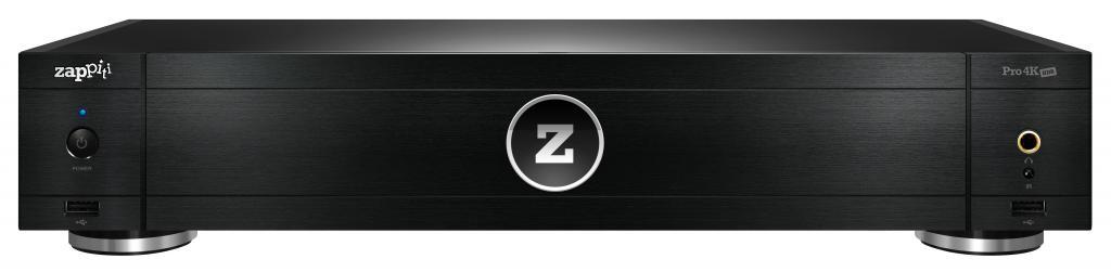 Zappiti Pro 4K HDR mit Sweetspot Audio Modifikation/Tuning