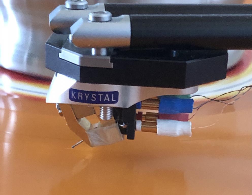 Linn Krystal Tonabnehmer, repariert und verbessert
