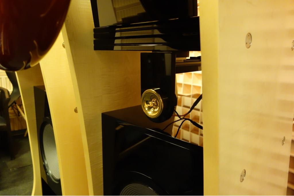 Alpha II horn loudspeakers in perfect condition
