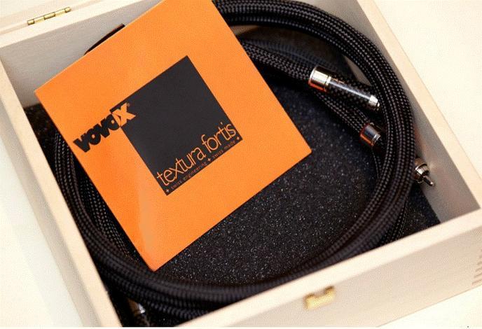 Vovox Klangleiter Textura Fortis RCA 1,0 m