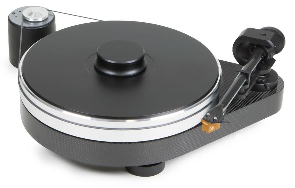 RPM 9 Carbon incl. 9 Zoll Tonarm und Tonabnehmer Ortofon MC Quintet Bronze