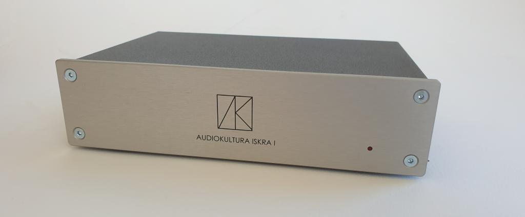 Audiokultura Iskra1 mm/mc phono stage, brand new