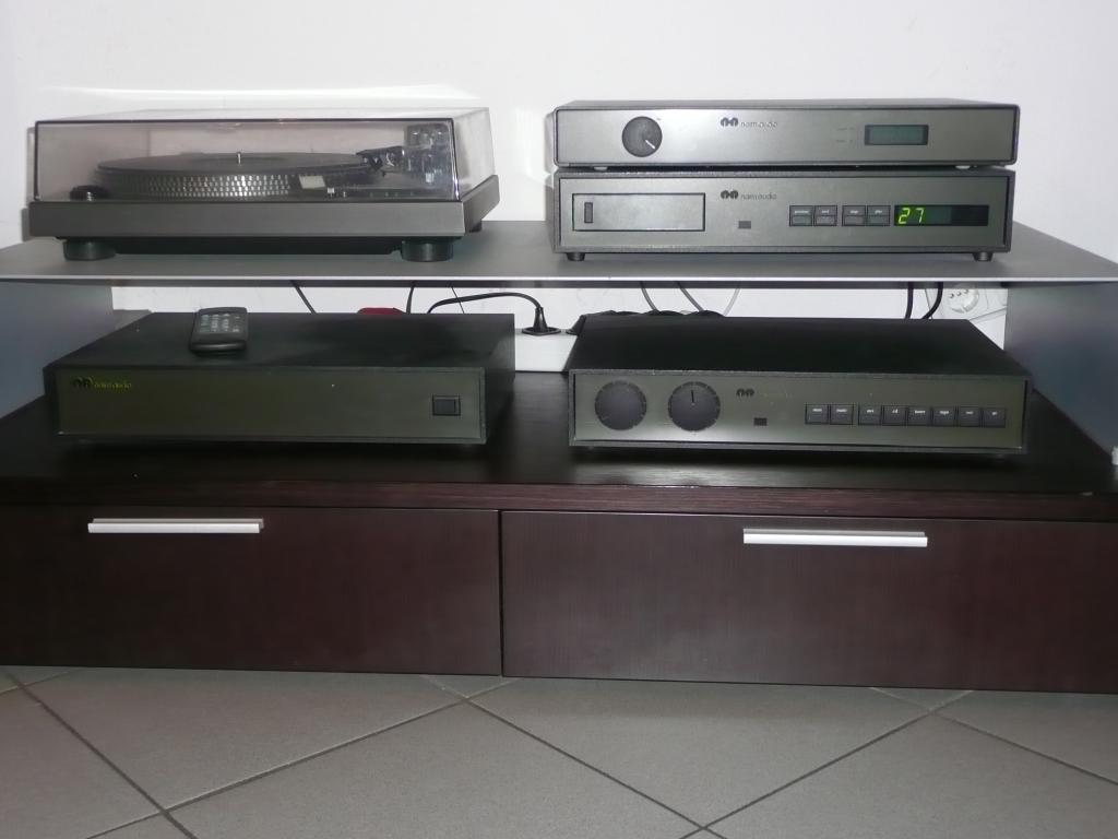 NAIM Audio, CD-Player CD 2, Radioempfänger NAT 03, Vor-und Endstufe NAC102 und NAP180