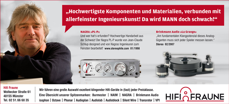 """""""Hochwertigste Komponenten und Materialien, verbunden mit allerfeinster Ingenieurskunst!"""