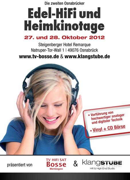 Zweite Edel Hifi und Heimkino Tage in Osnabrück