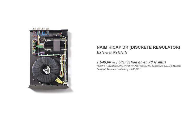 Naim HiCap DR (Discrete Regulator) - Vorführbereit!