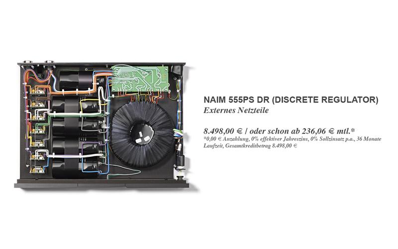 Naim 555PS DR (Discrete Regulator) - Vorführbereit!