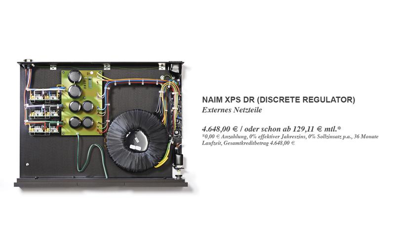 Naim XPS DR (Discrete Regulator) - Vorführbereit!