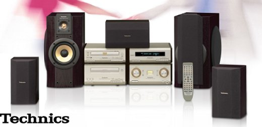 DVD-Audio/Video-Micro-System SC-HDA800 von Technics