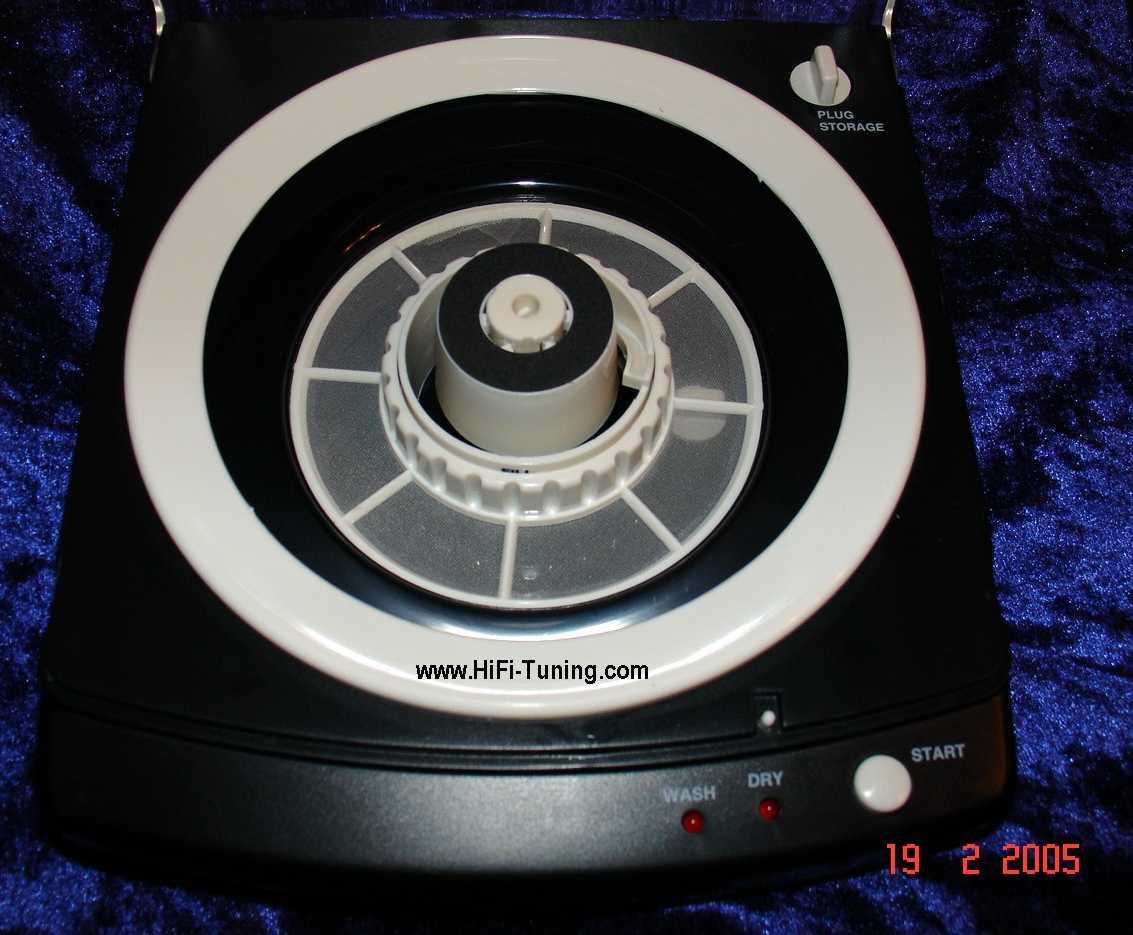 CD/DVD-Waschmaschine