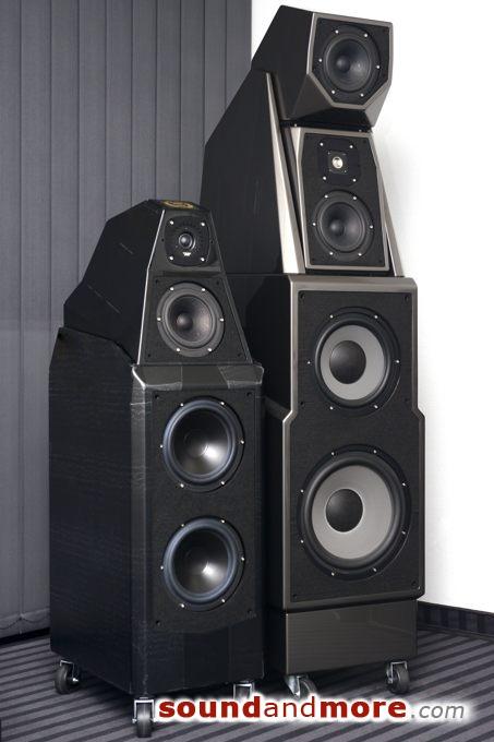 Die neue Wilson Audio Sasha W/P Serie 2 AC im Vergleich zu MAXX Serie 3.
