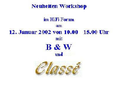 Event mit Classe und  B & W
