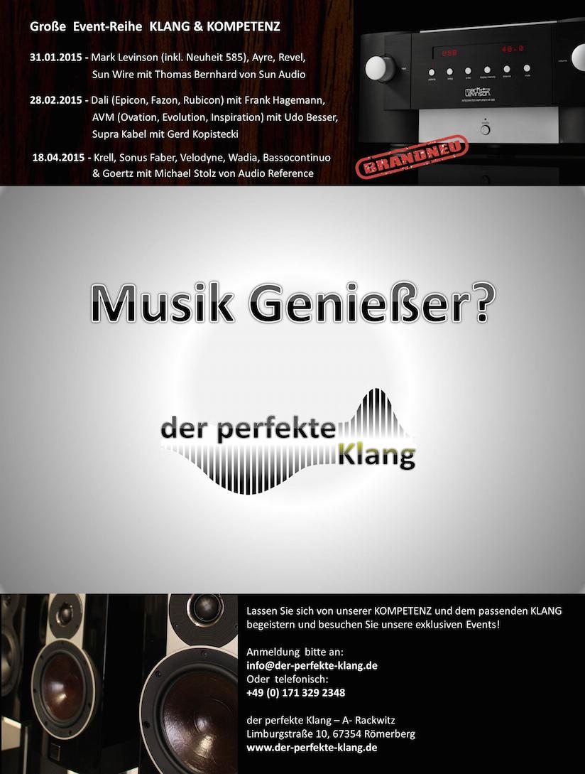 KLANG & KOMPETENZ Event-Reihe bei der-perfekte-Klang