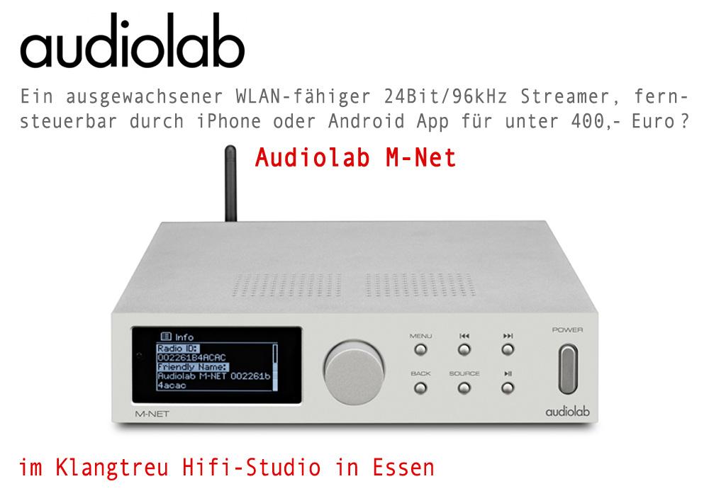 Audiolab Streamer M-Net