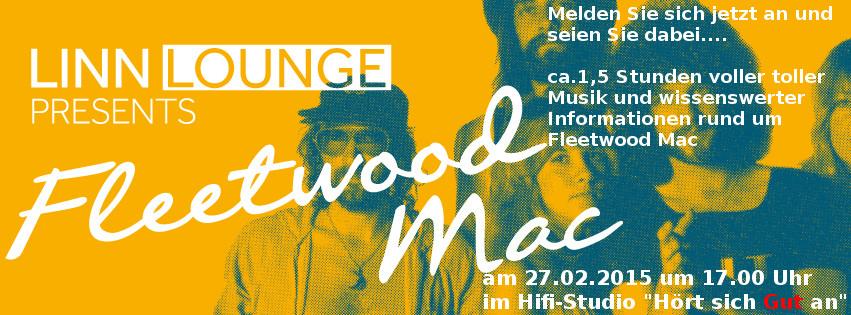 Linn Lounge mit Fleetwood Mac am 27.02.2015 um 17.00 Uhr bei \