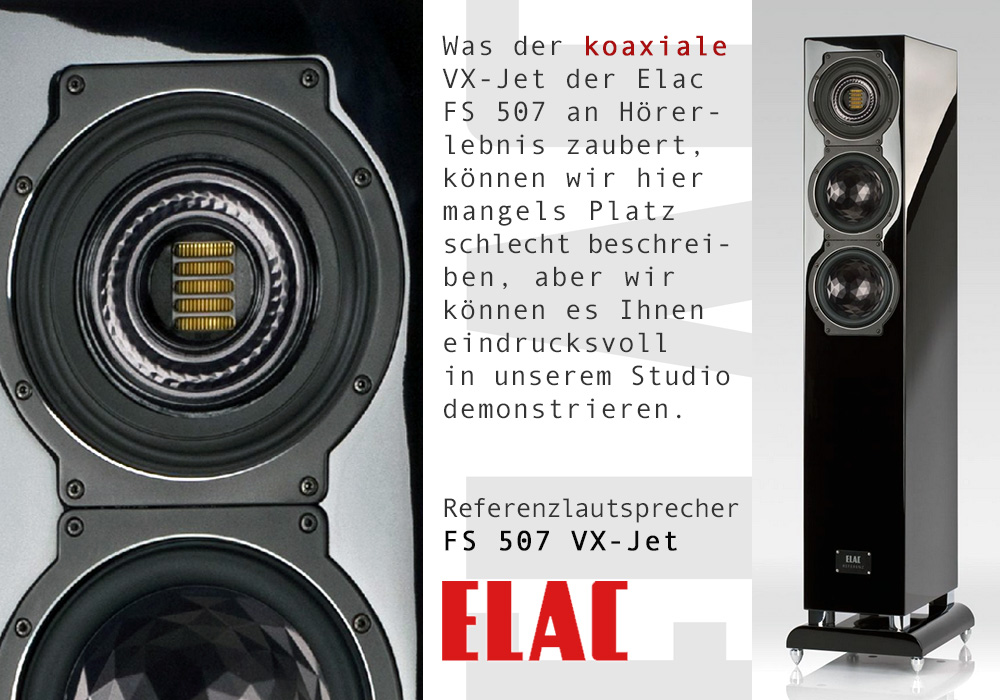 Elac FS 507 VX-Jet Referenzlautsprecher