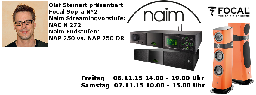 Naim & Focal Neuheitentage bei \