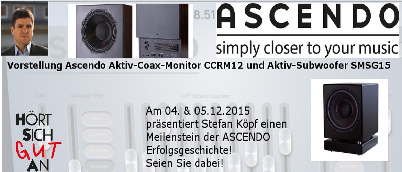Ascendo Premiere: Stefan Köpf stellt Aktivsystem bei \