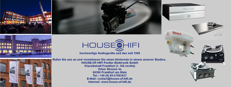 ERRINNERUNG MORGEN Audio-Schnäppchenmarkt im House of Hifi