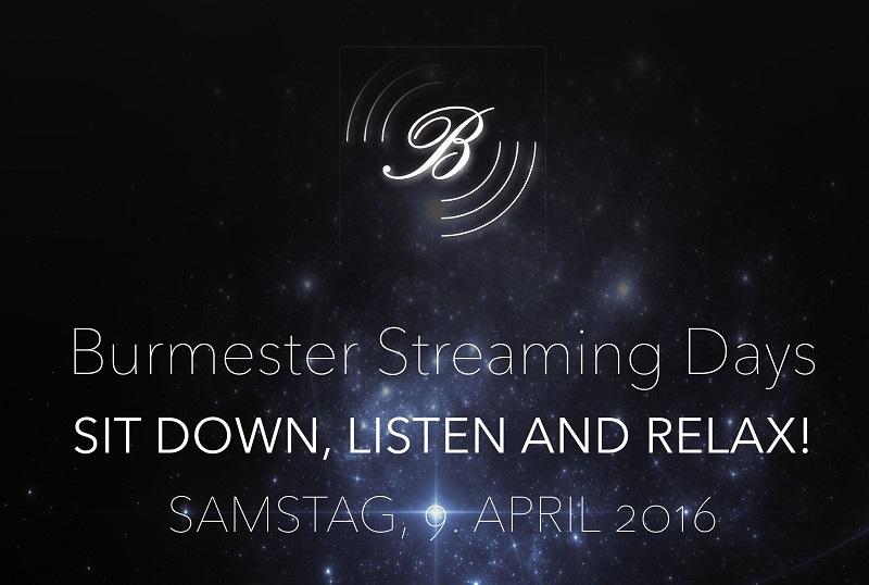 Burmester Streaming Days