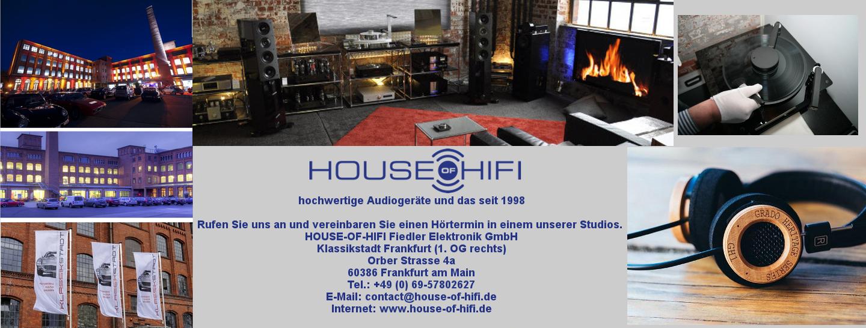 House of Hifi in der Klassikstadt Frankfurt