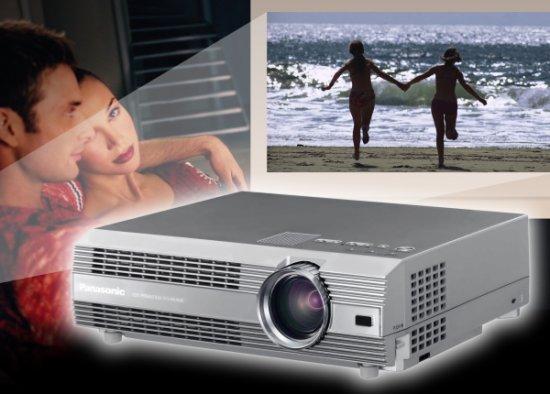 Panasonic Heimkino-LCD-Projektor