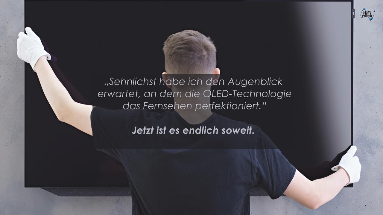 Meister der Bildkunst -  Loewe bild 7 eingetroffen!