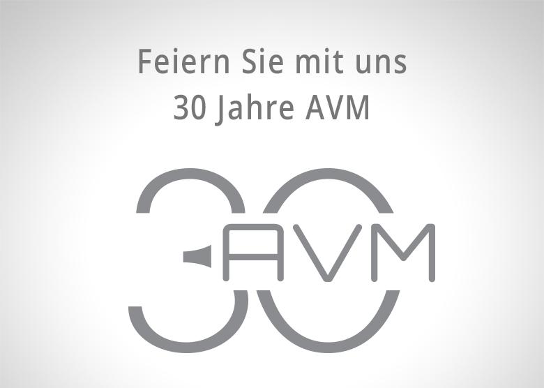 AVM30 Serie - 30 Jahre Audiophile Meisterstücke JETZT auch in der Schweiz.....