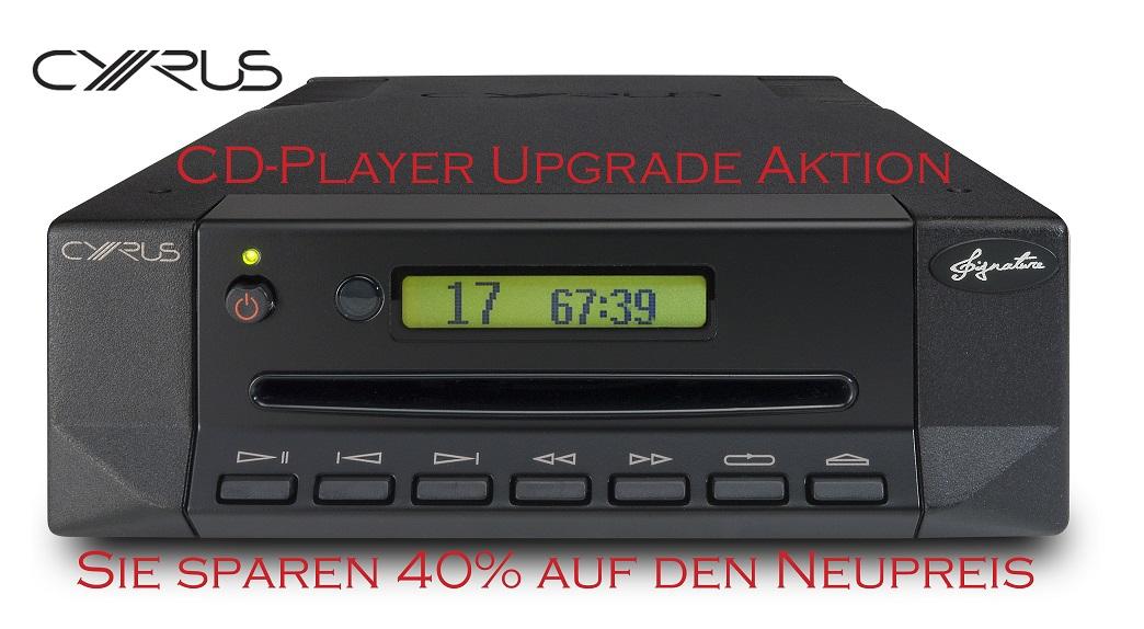 CD Player Upgrade Aktion von CYRUS