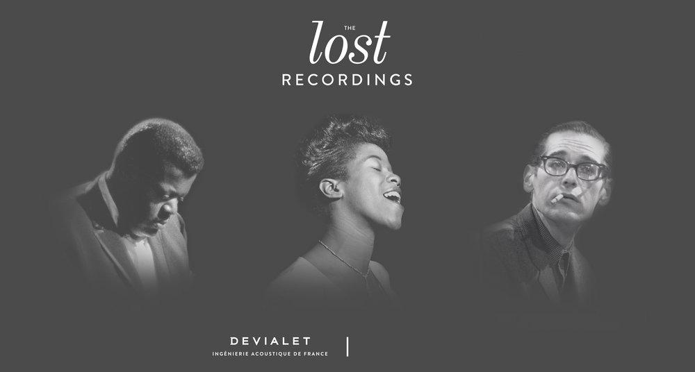 LOST RECORDING  nummerierte- und limitierte Stückzahlen von Devialet