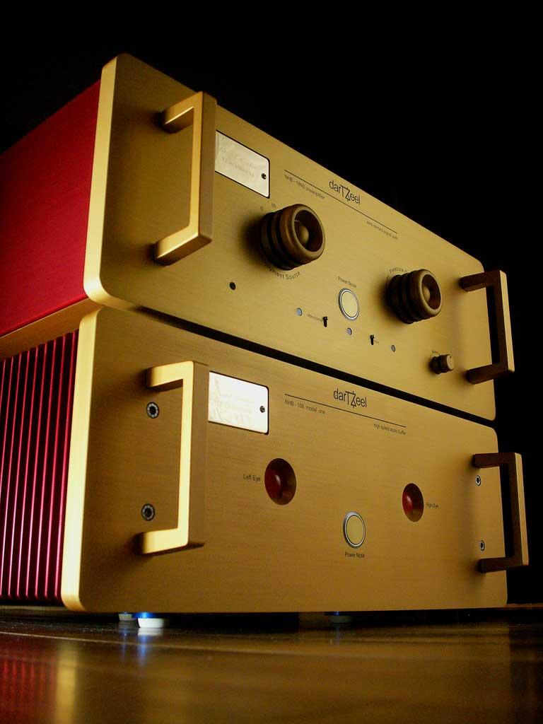 darTZeel - Amps PURES GOLD AUS DER SCHWEIZ darTZeel NHB-108 Model One & NHB-18 NS