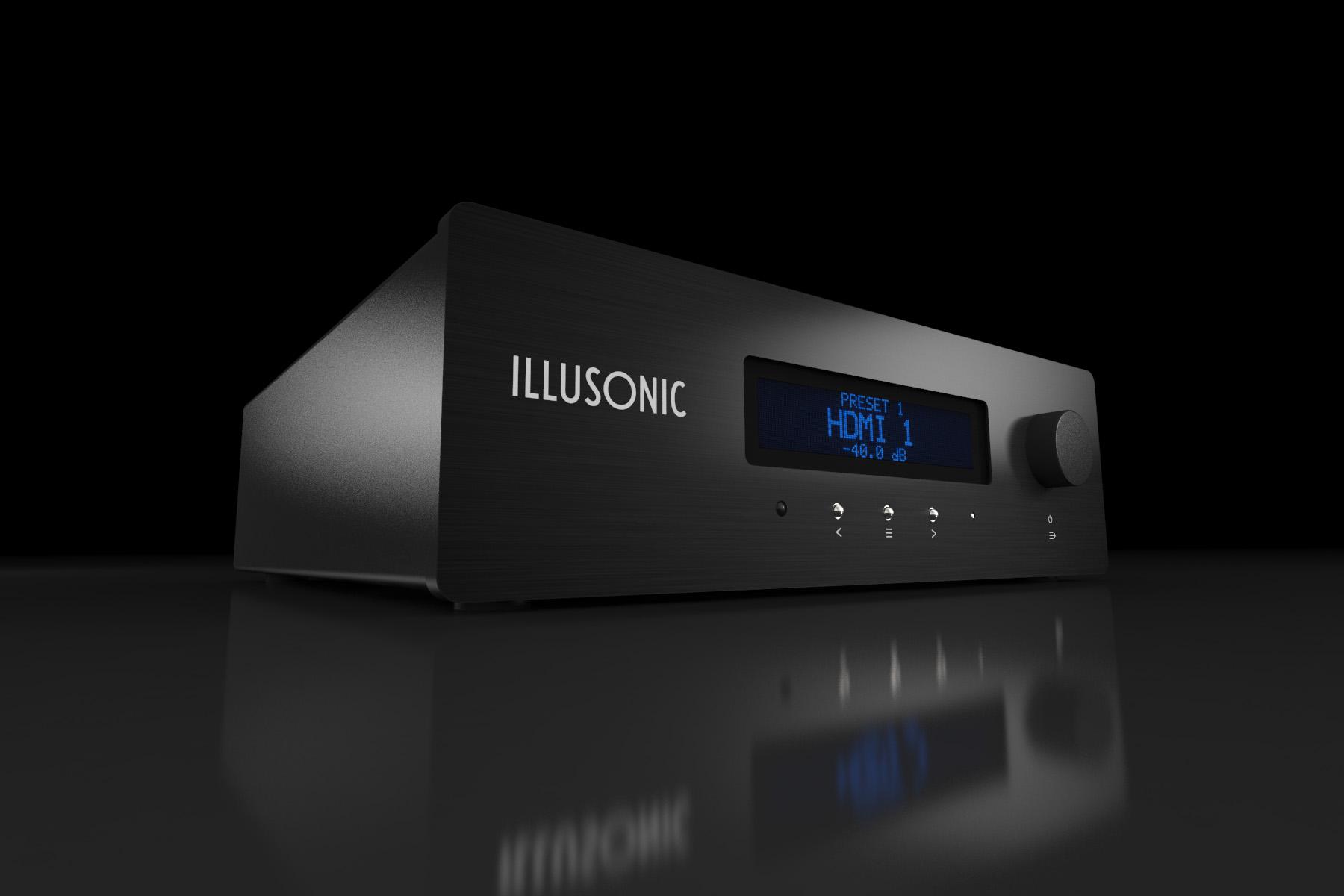 Illusonic Audioprozessoren - die 3. Dimension der Musikwiedergabe incl. Raumkorrektur