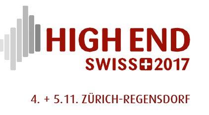 HIGH END® SWISS 4. + 5. NOVEMBER 2017
